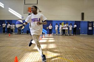 76ers Fit Clinic at Hartranft